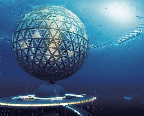 фото В Японии хотят построить подводный город к 2035 году