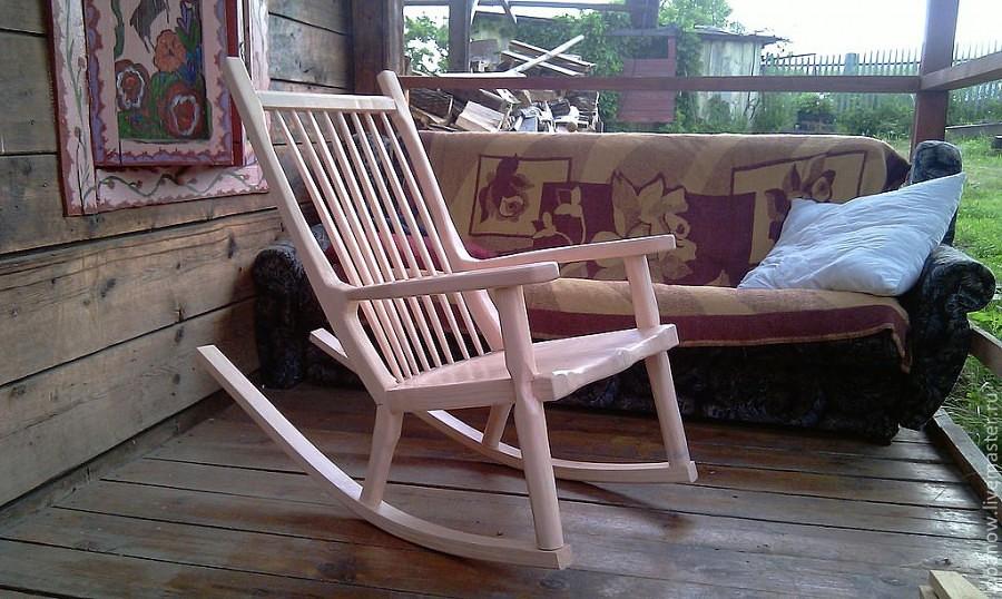 Как из старого кресла сделать кресло качалку своими руками