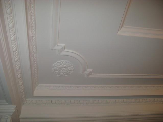 Как сделать красивый потолок из гипса