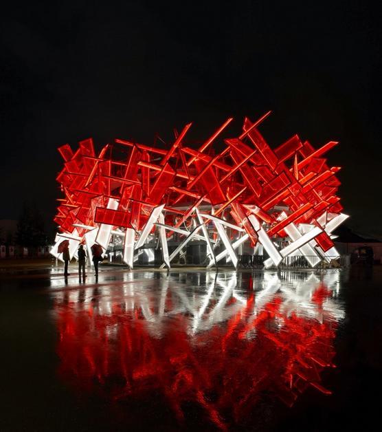 фото Coca-Cola Beatbox инсталяция будущего Архитектор Асиф Хан